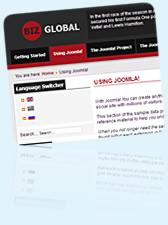 Free Joomla 2.5 Template BizGlobal